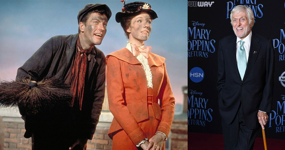 dick van dyke attends mary poppins returns premiere at hollywoods dolby theater.jpg?resize=300,169 - Dick Van Dyke Attends 'Mary Poppins Returns' Premiere At Hollywood's Dolby Theater