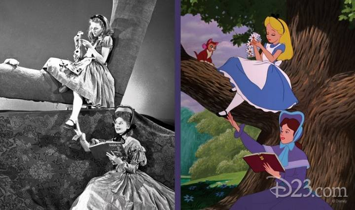 디즈니 이상한 나라의 앨리스 실제 모델.jpg | 인스티즈
