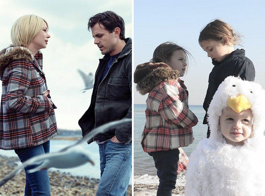 dont call me oscar maman filles detourner scenes de films 2.jpg?resize=1200,630 - Une maman et ses 3 filles reproduisent des scènes de films de la plus adorable des façons