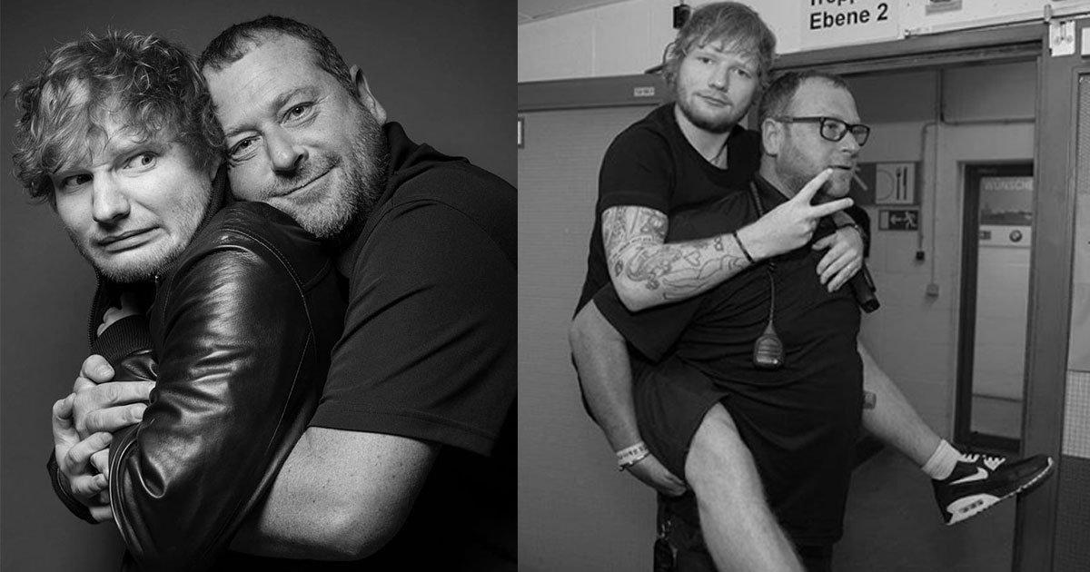 ed sheerans bodyguard is an instagram king as he trolls his boss in the wittiest way.jpg?resize=1200,630 - Ed Sheeran's Bodyguard Trolls His Boss By Sharing Funny Pictures On Instagram