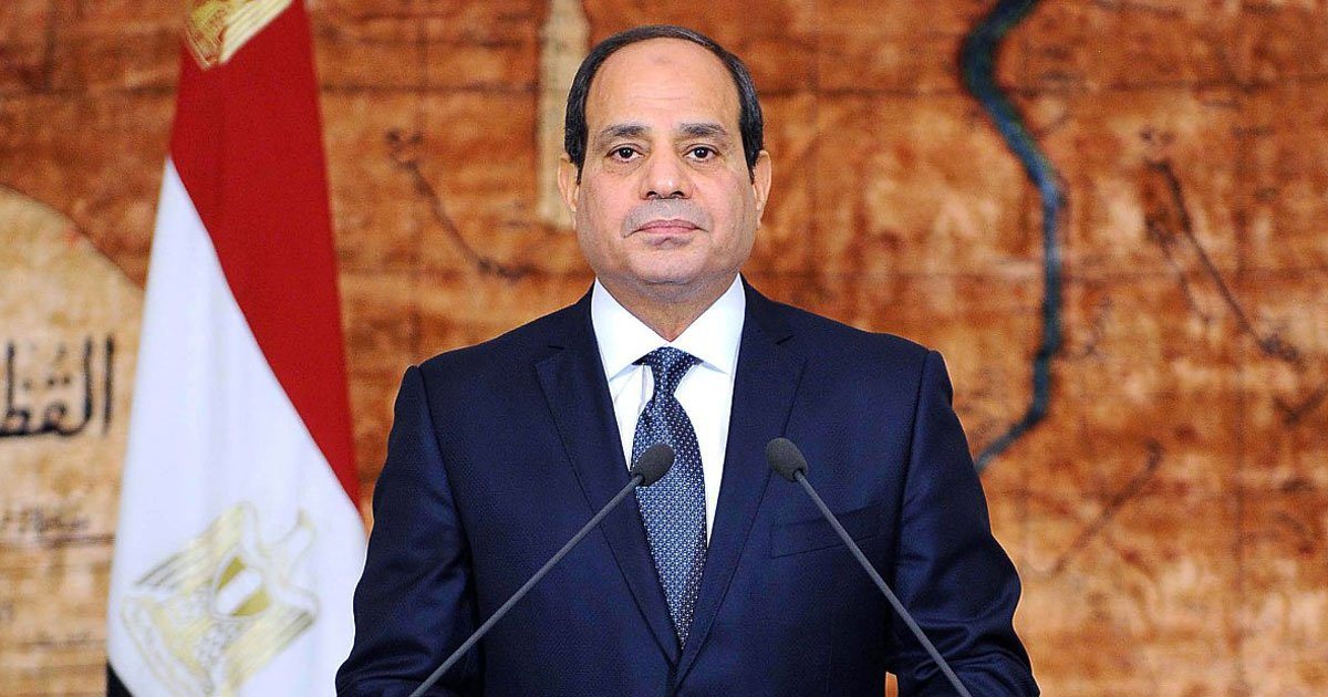 egypt president.jpg?resize=1200,630 - Egypt's President Says To Migrants, 'If You Go To Another Country, You Must Abide By Its Culture - If Not, Don't Go'