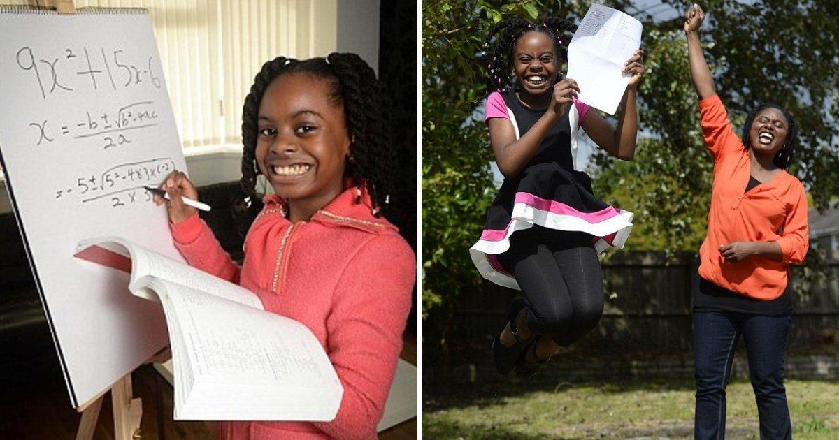 esther5.png?resize=1200,630 - Une fillette de 10 ans est acceptée à l'université pour des études en mathématiques malgré le fait qu'elle ne va pas à l'école