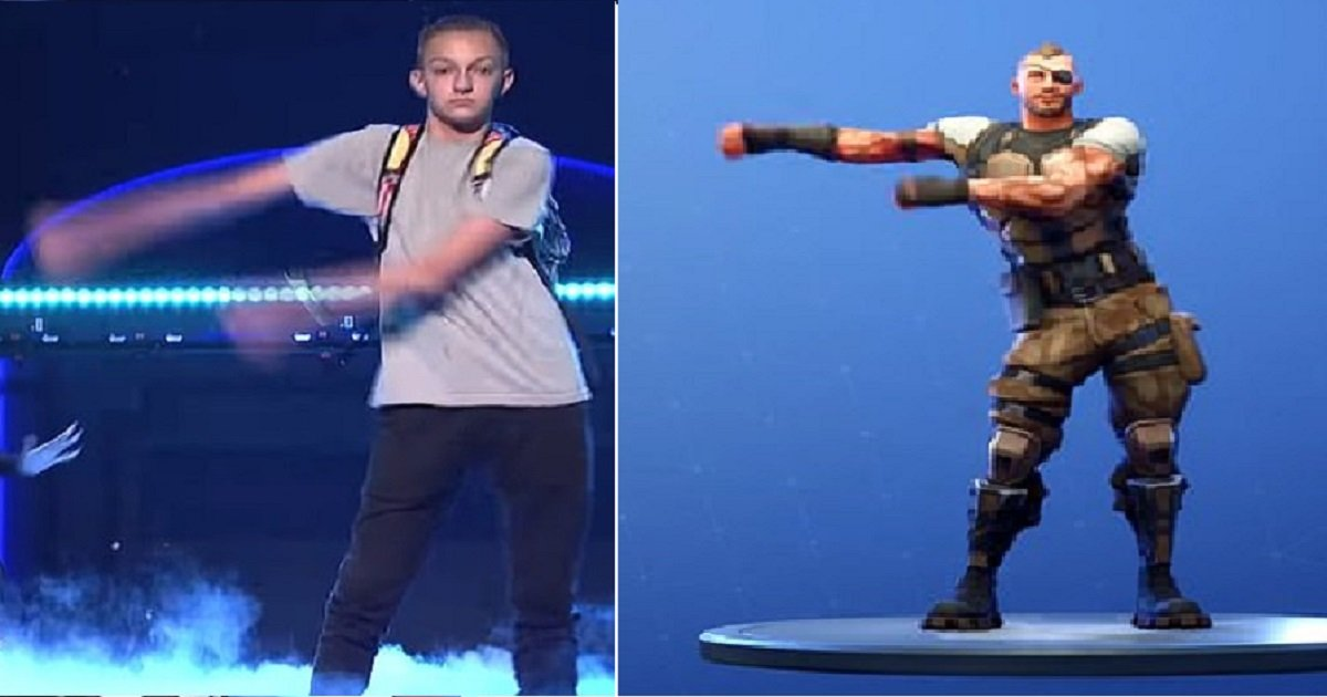 "f3.jpg?resize=1200,630 - Fortnite Slapped With A Lawsuit As ""Backpack Kid"" Claimed Company Used His Floss Dance Without Permission"