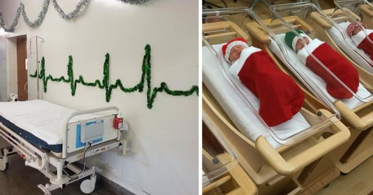 10 Hospital Christmas Decorations That Will Make Your Day Small Joys