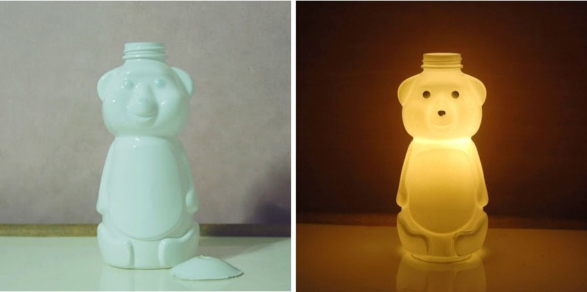 honey bear light.jpg?resize=1200,630 - She Paints The Bottom Of A Light Bulb – The Reason Has Me Doing It Too!