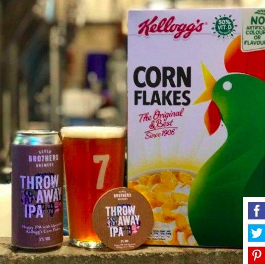 img 5c0a1655d807e.png?resize=412,232 - Kellogg's fabrique de la bière à partir des restes de flocons de maïs pour réduire les déchets alimentaires