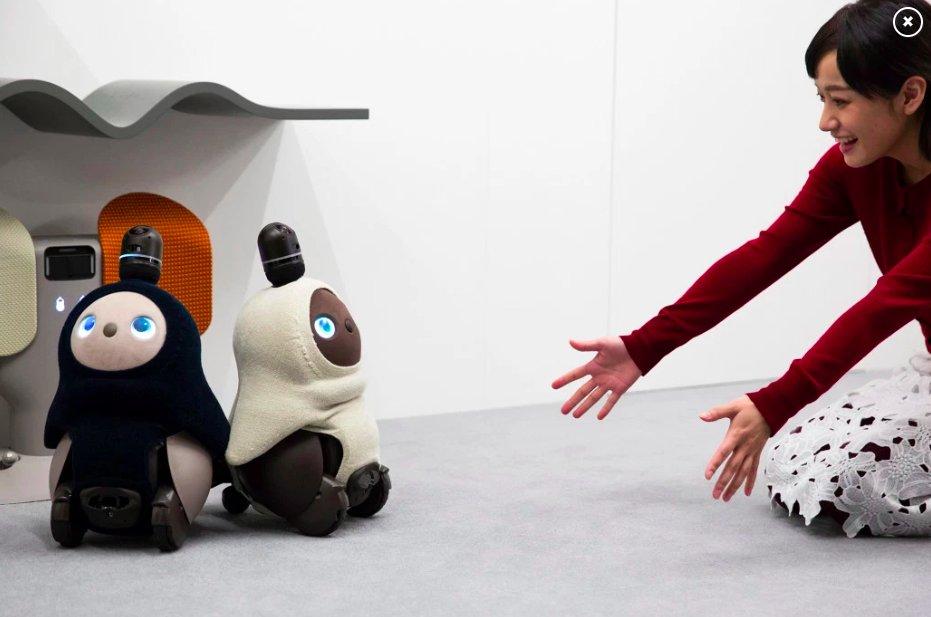 img 5c1a790fe3eb0.png?resize=412,232 - Ce robot tout mignon est programmé pour que les humains se sentent aimés.