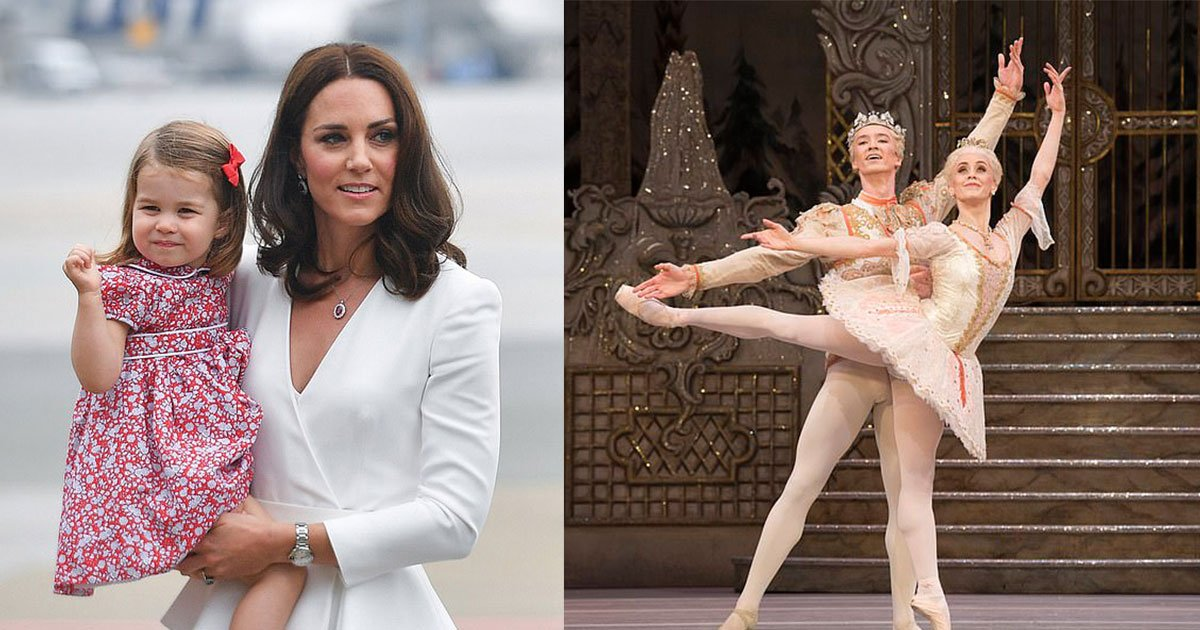 kate middleton took princess charlotte for a mother daughter trip to the ballet.jpg?resize=412,232 - Kate Middleton Took Princess Charlotte For A Mother-Daughter Trip To The Ballet