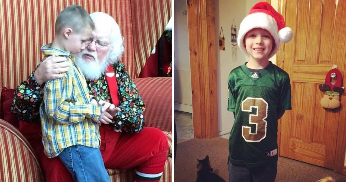 landon5.png?resize=412,232 - 6-Year-Old Boy With Autism Asked Santa If His Condition Will Put Him On The Naughty List