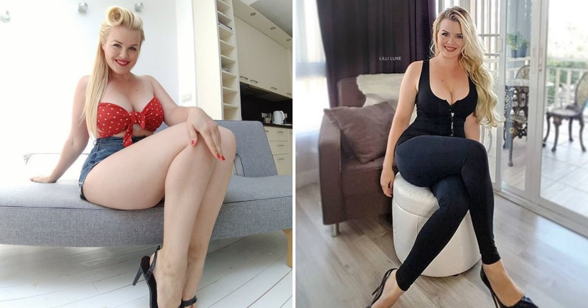 lilli7.png?resize=412,232 - 28-Year-Old Curvy Model Lost Lucrative Jobs After Losing Weight – She Also Faced Backlash From Followers