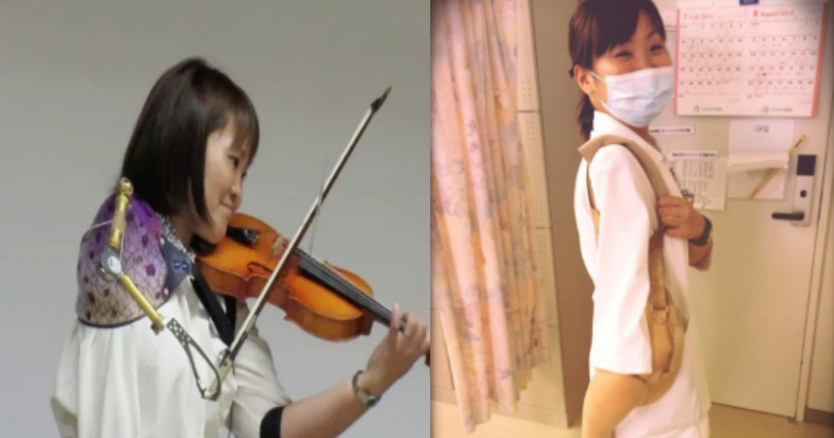 manami.png?resize=300,169 - 片腕を失った女性が演奏するバイオリンの旋律が感動的!