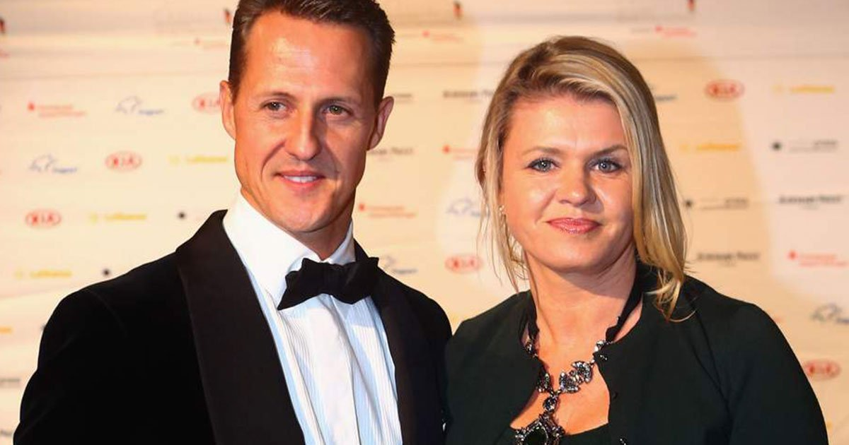 michael schumachers wife corinna has demanded secrecy over his condition from family and friends.jpg?resize=412,232 - Michael Schumacher's Wife Corinna Has Demanded Secrecy Over His Condition From Family And Friends