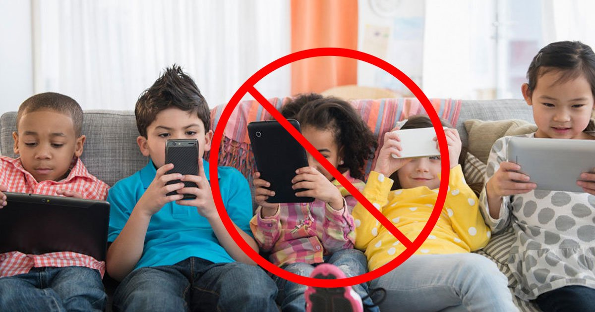 no smartphones.jpg?resize=412,232 - Children Who Spend Seven Hours Or More On Their Smartphones And Tablets Are At Risk Of Deteriorating Memory Function