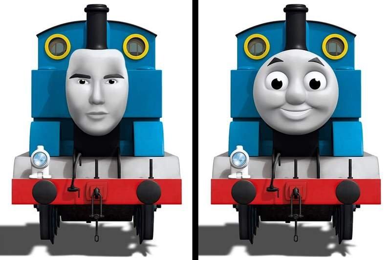 qzqvokkckaaeqaq.jpg?resize=648,365 - 「黃金比例臉」必定是帥哥美女?如果像是鬼娃恰奇和湯瑪士小火車也有呢...?