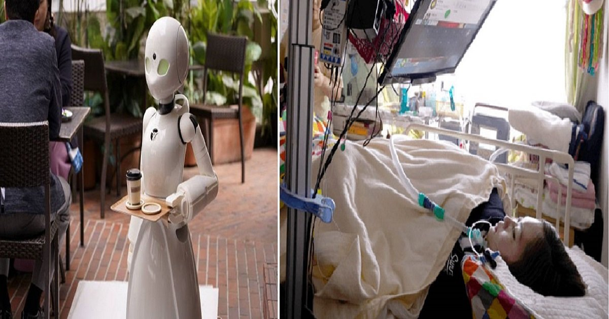 r4 1.jpg?resize=412,232 - Amazing Robotic Innovation Allowed A Japanese Cafe To Employ Paralyzed People As Waiters