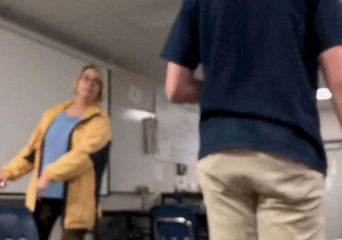Californian teacher was fired