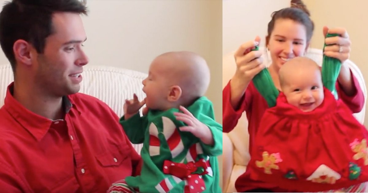 "s4 8.png?resize=412,232 - Father Rephrases ""Jingle Bells"" to Celebrate Daughter's First Christmas"