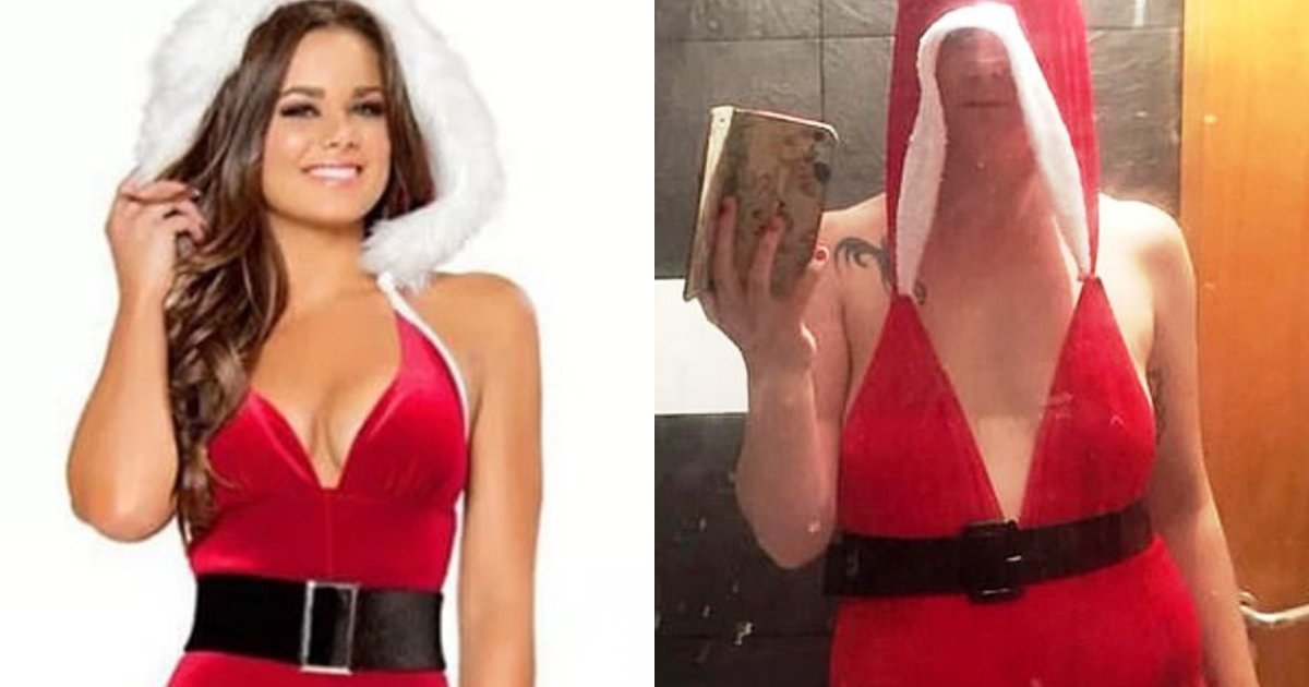 santa5.png?resize=412,232 - Mother-Of-Two Left Horrified After Buying $9 'Sexy Santa' Outfit On Ebay