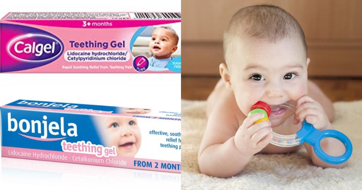 teething6.png?resize=412,232 - Baby Teething Gels Don't Work And Are To Be Taken Off Supermarket Shelves As They Can Cause Seizures