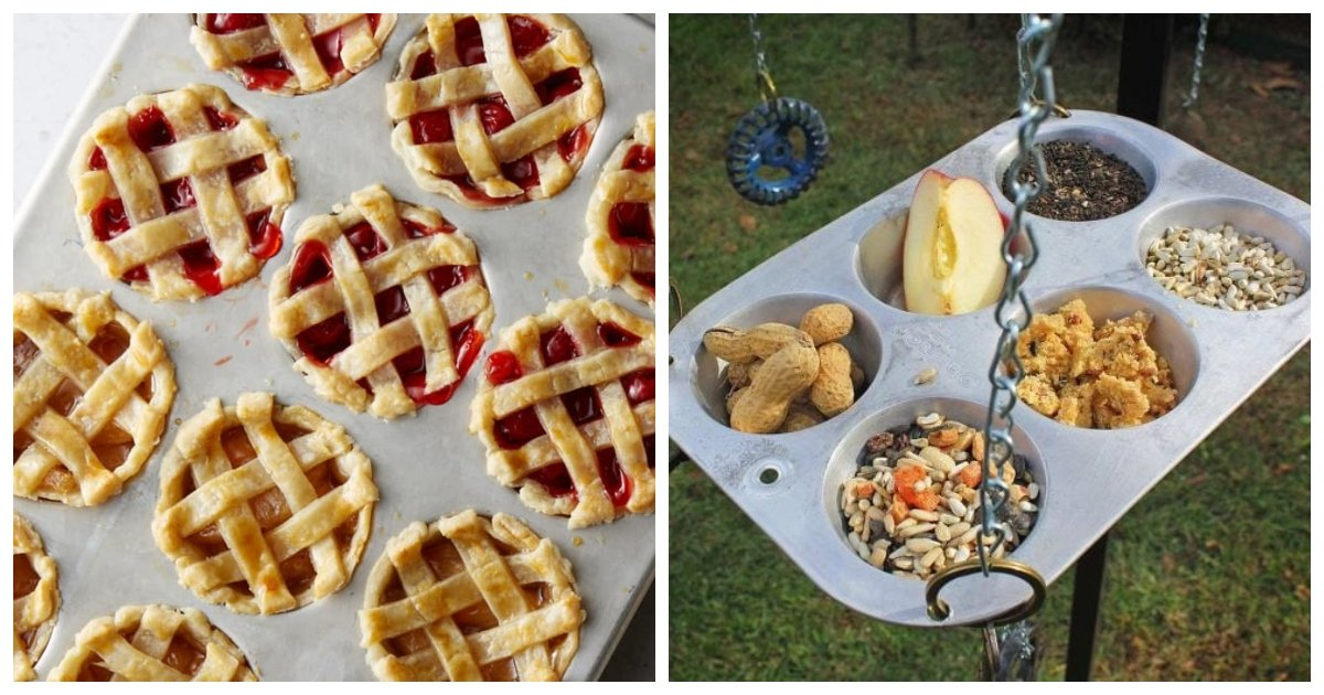 tin1.jpg?resize=1200,630 - Muffin Tins Are For More Useful Than You Think. Here Are 40 Clever Uses For Them Beyond Baking