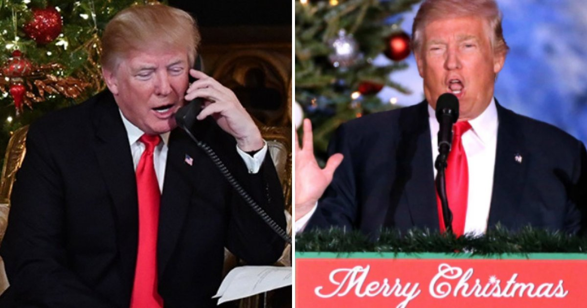 trump4 1.png?resize=412,232 - President Trump Cancels Traditional White House Christmas Party For Press After A Year Of Accusations And Legal Battle With CNN