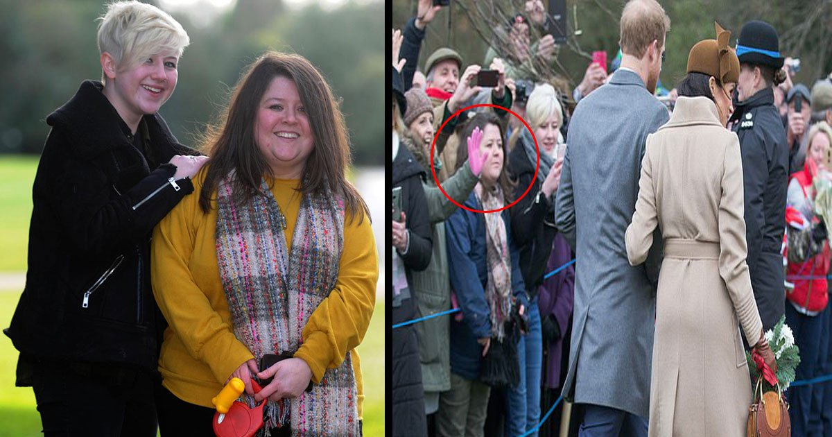 untitled 1 52.jpg?resize=412,275 - Single Mum Made £40k From Taking Photo Of William, Kate, Meghan And Harry At Sandringham Last Christmas