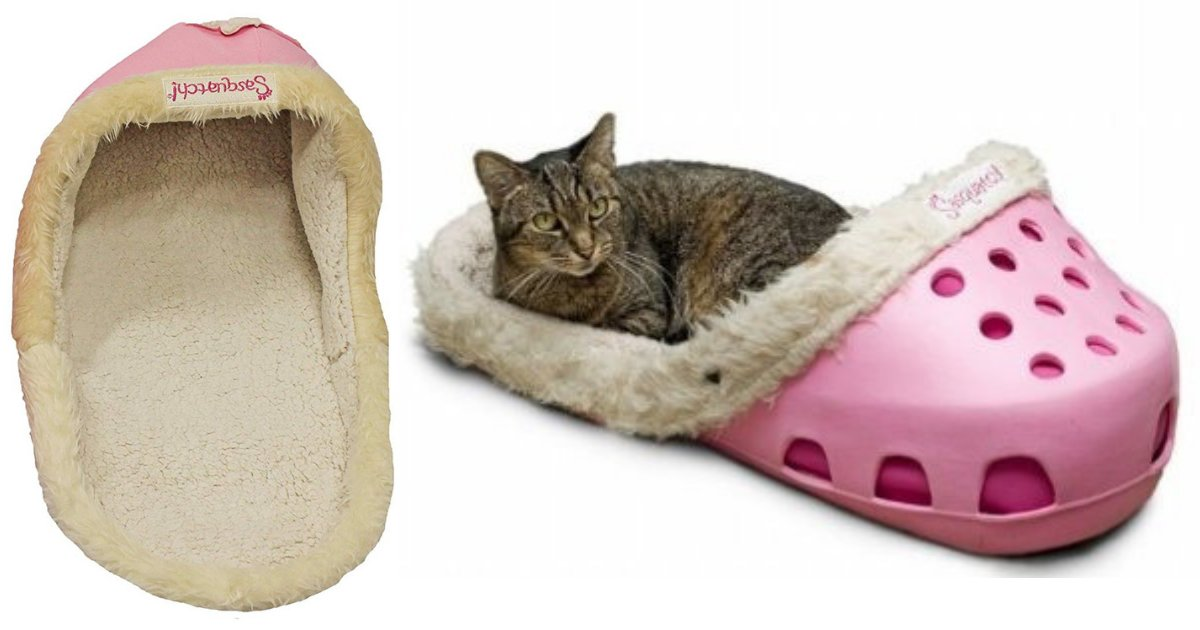 untitled design 3.png?resize=412,232 - New Croc-Style Pet Beds Are Taking Over The Internet And Animals Love Them