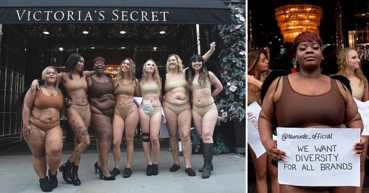 untitled design 44.png?resize=412,232 - Women Strip To Lingerie To Protest Against Victoria's Secret And Demand Diversity From All Brands