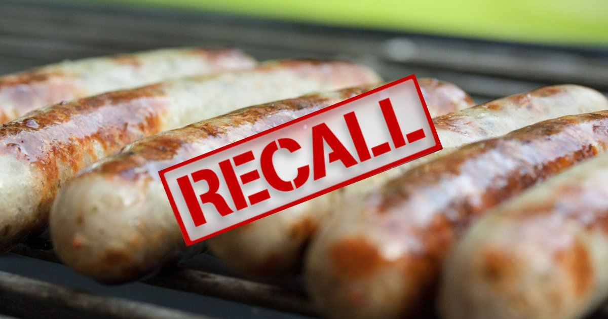untitled design 65 1.png?resize=412,232 - Recall Alert! 29,000 Pounds Of Sausages Recalled Due To Contamination With Metal