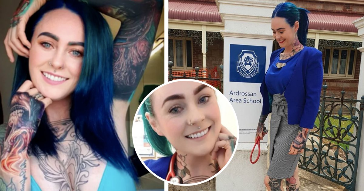 y4 7.png?resize=412,232 - La docteure la plus tatouée du monde s'ouvre sur la discrimination et les obstacles auxquels elle doit faire face au quotidien