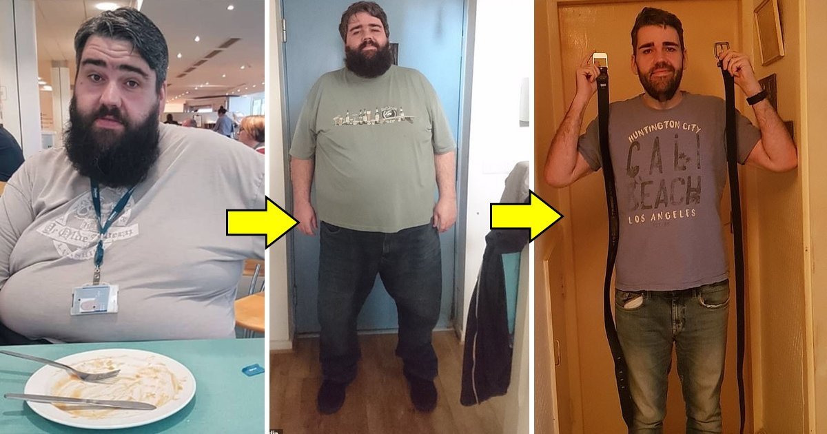 12544.jpg?resize=1200,630 - Man Weighing 29st Shed Half Of His Body Weight While Eating Kitkats Every Night And That Trick Is What We All Need In Life