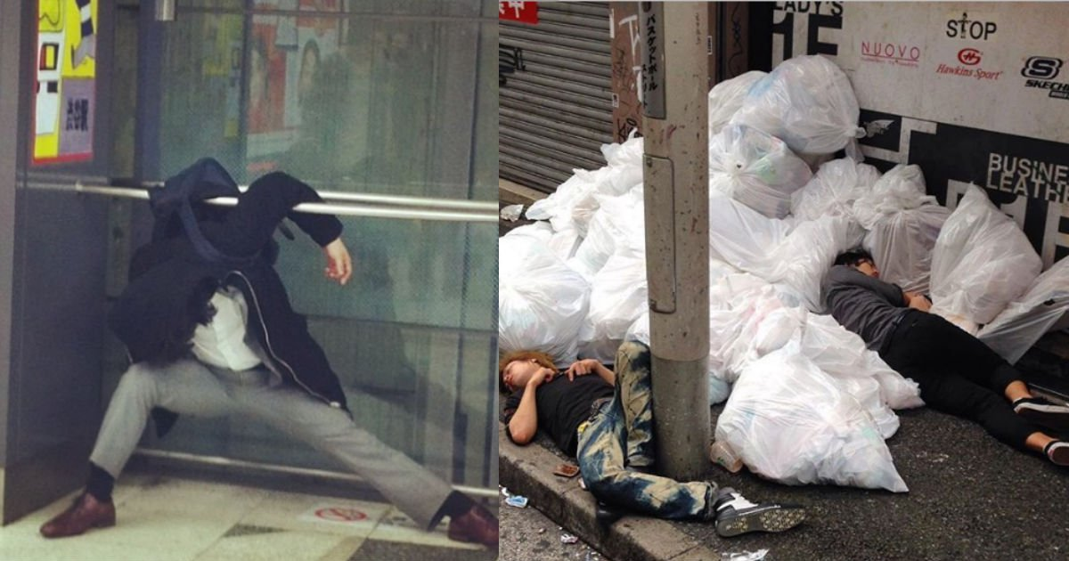 7.jpg?resize=1200,630 - 東京の街で目撃した…『酔い潰れて公共の場に寝込んだ人』コレクション!!