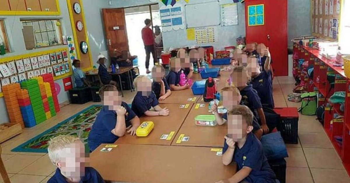 africa4.png?resize=1200,630 - Black and White Children Sit Separately At School, Leaving Black Parents Furious