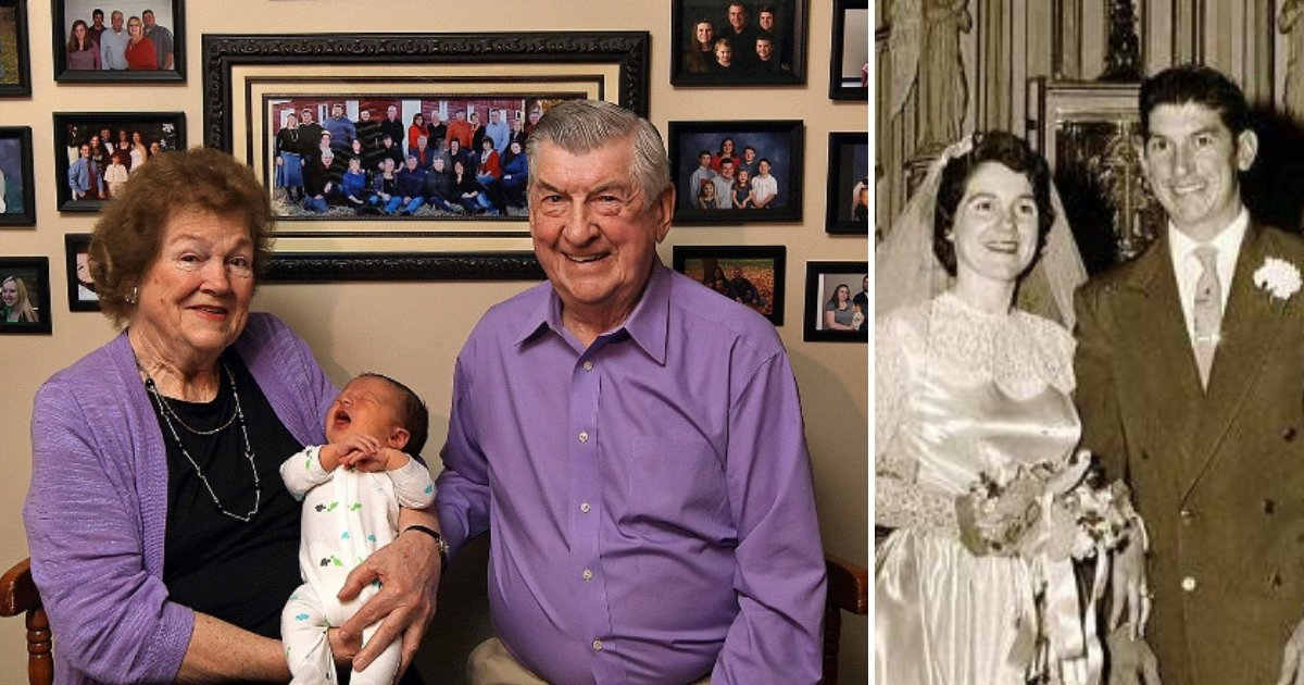 baby2.png?resize=1200,630 - Couple Married For Six Decades Made Headlines After Celebrating 100th Grandchild