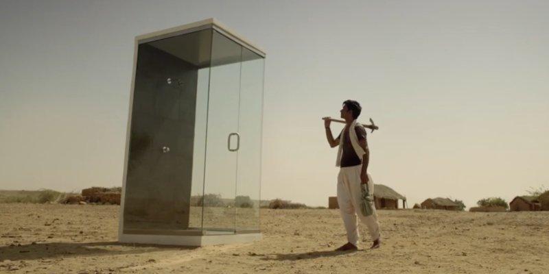 douche inde gaspillage unilever 800x400.png?resize=412,232 - [Vidéo] Cette publicité installe une douche dans un village indien aride pour sensibiliser au gaspillage de l'eau