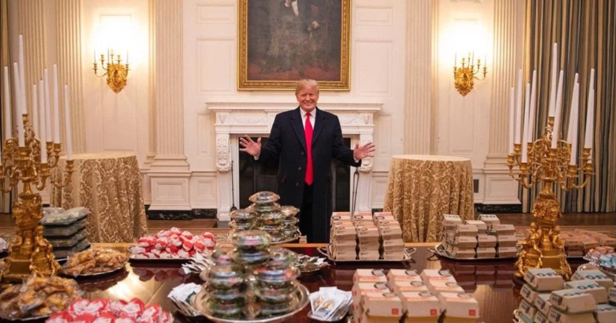 featured image 15.png?resize=412,232 - Trump Honors Clemson With Fast-Food Feast Due To Shutdown, And Personally Pays For It