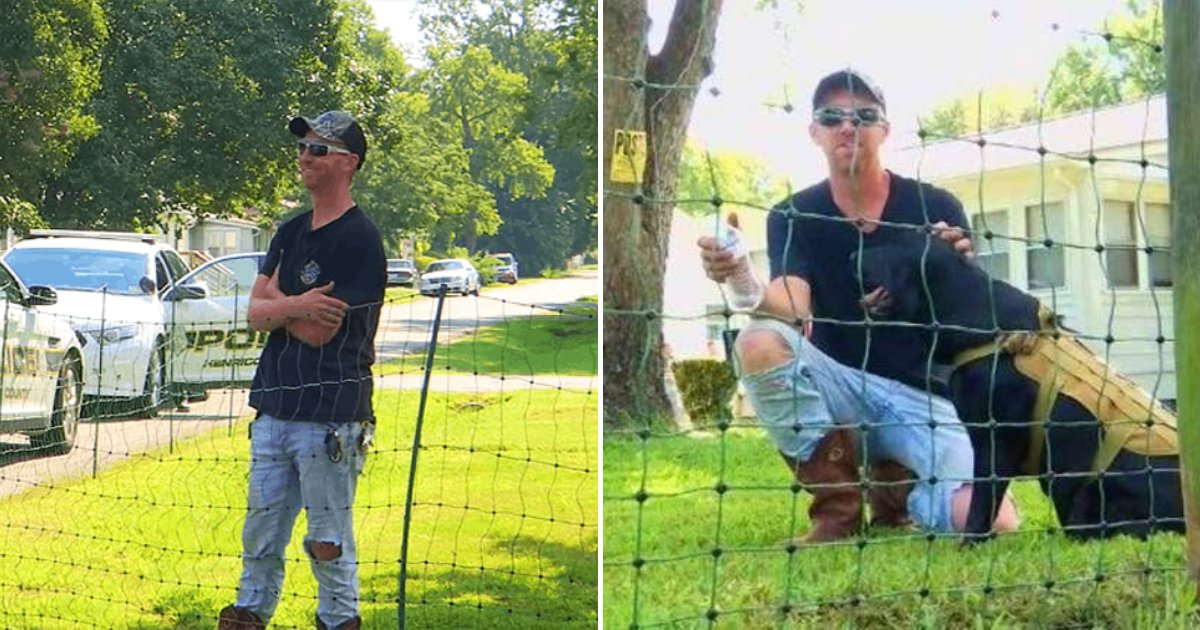 fence5.png?resize=300,169 - Parents Outraged After Man Installs Electric Fence To Keep Children Off His Lawn