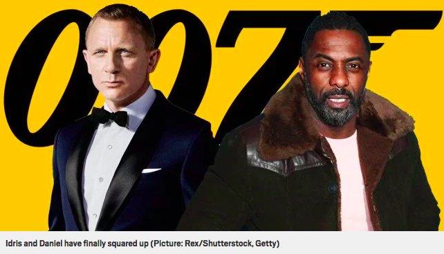 img 5c33b5b4dc037.png?resize=412,232 - Daniel Craig et Idris Elba s'affrontent dans un selfie épique aux Golden Globes 2019