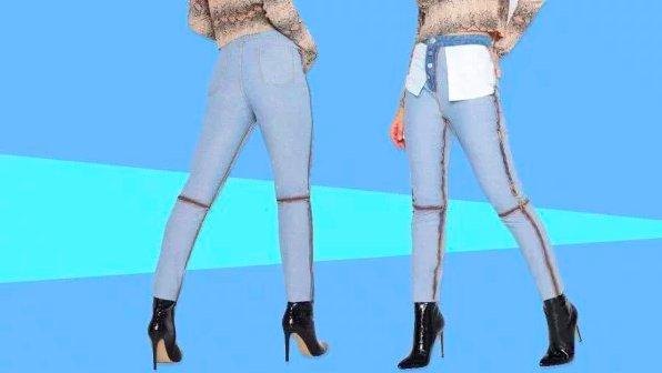 """img 5c3fa46b18354.png?resize=300,169 - Une marque vend des jeans """"à l'envers"""" et les gens n'en sont pas fans."""