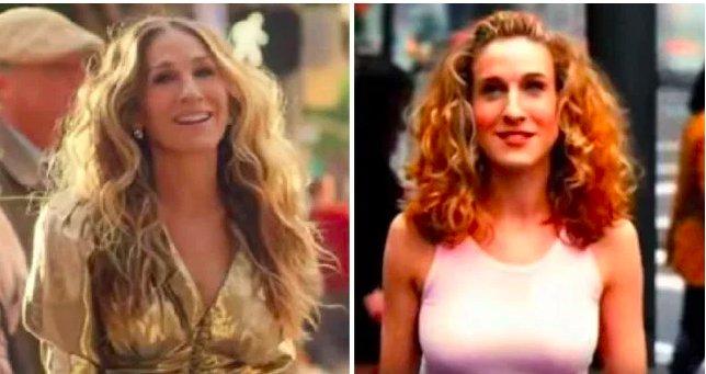img 5c477a0423898.png?resize=412,232 - Sarah Jessica Parker est de retour en tant que Carrie pour le générique d'ouverture de Sex and the City.