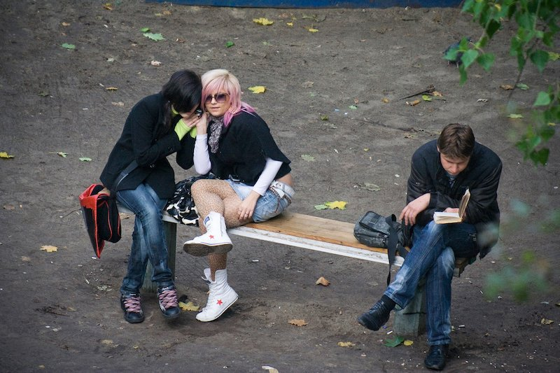 jeka kotenko banc 10 ans photographie vie 1.jpg?resize=412,232 - Il photographie, 10 ans durant, un même banc et ceux qui s'y assoient