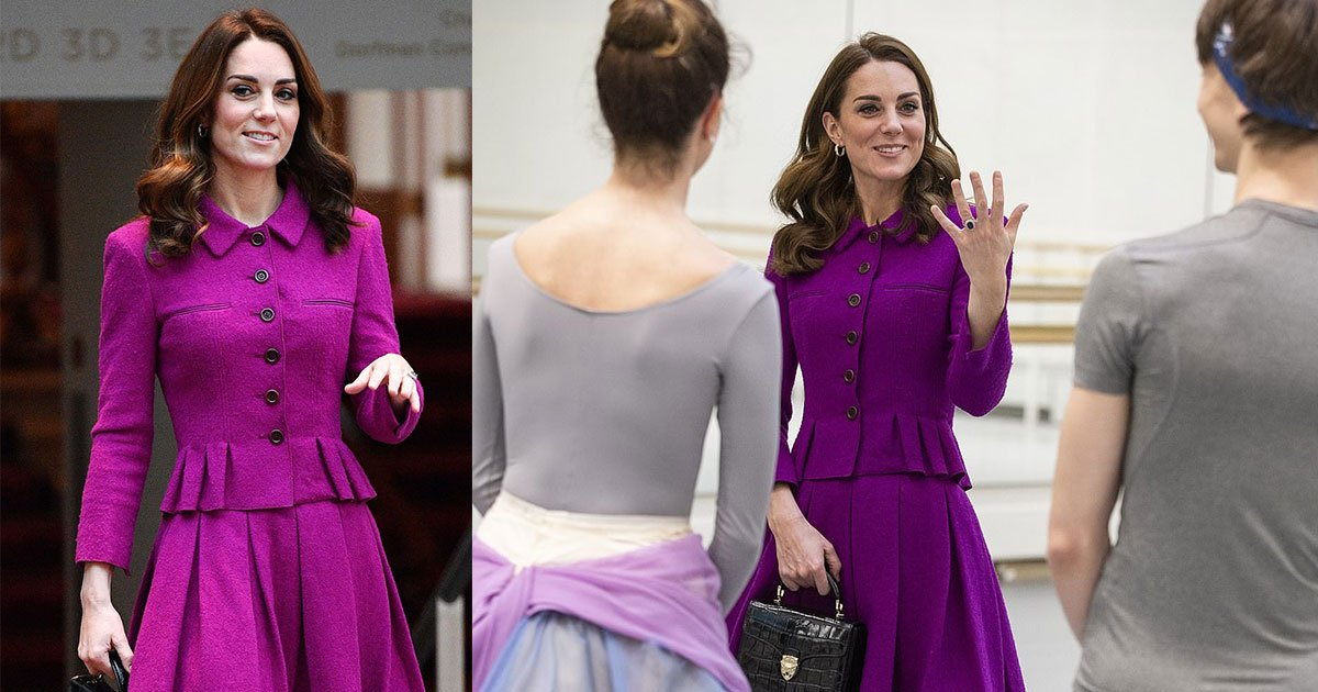 kate middleton visited royal opera house and was treated to a private performance of the romantic ballet the two pigeons.jpg?resize=412,232 - Kate Middleton Visited Royal Opera House And Was Treated To A Private Performance Of The Romantic Ballet The Two Pigeons