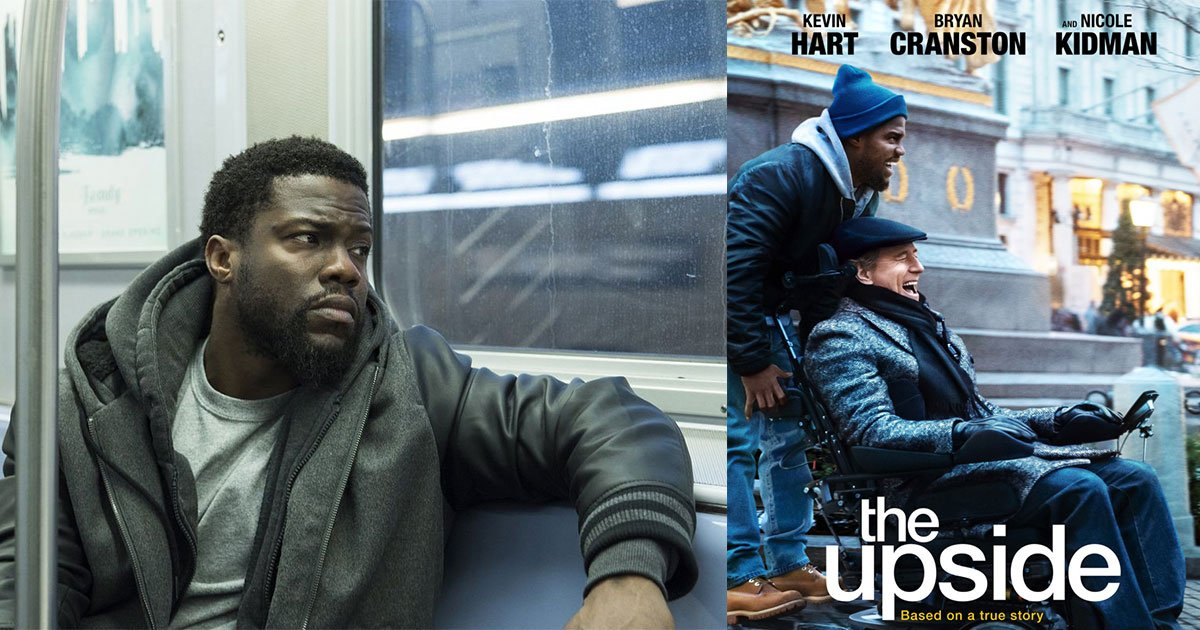 kevin harts movie the upside opens at no 1 amid oscar controversy.jpg?resize=412,232 - Kevin Hart's Movie 'The Upside' Opens At No. 1 Amid Oscar Controversy
