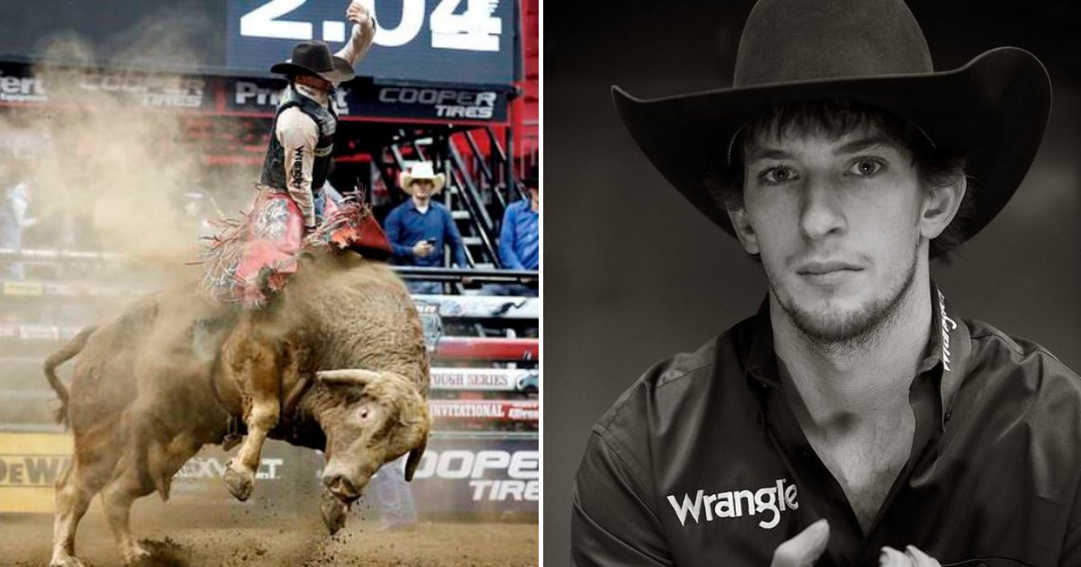 mason5.png?resize=300,169 - 25-Year-Old Bull Rider Passed Away After 1,700-pound Bull Stomped On His Chest During Competition