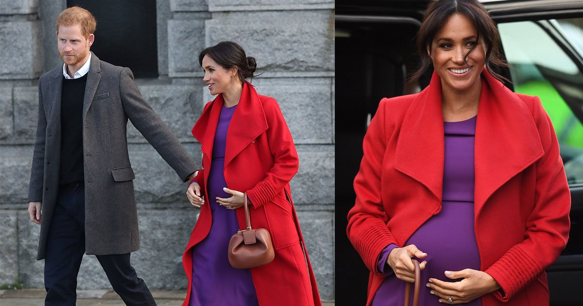 meghan markle revealed her babys due date as she chatted to well wishers in birkenhead.jpg?resize=412,232 - Meghan Markle Revealed Her Baby's Due Date As She Chatted To Well-Wishers In Birkenhead