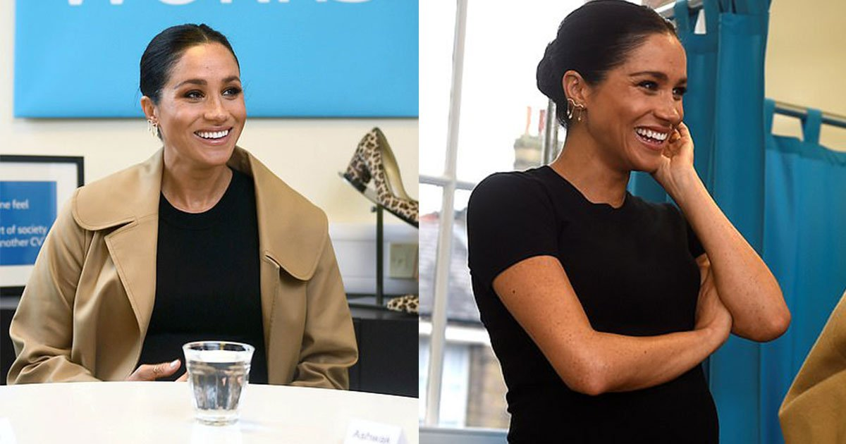 meghan markle visits smart works in west london and gives fashion tips to women at a charity.jpg?resize=1200,630 - Meghan Markle Visited Smart Works in West London And Gave Fashion Tips To Women