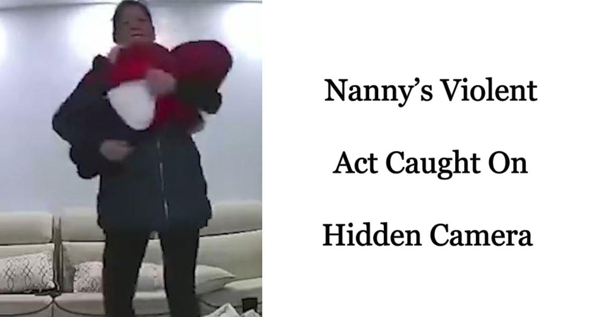nanny child abuse.jpg?resize=412,232 - Nanny Violently Shakes And Throws A Crying Baby