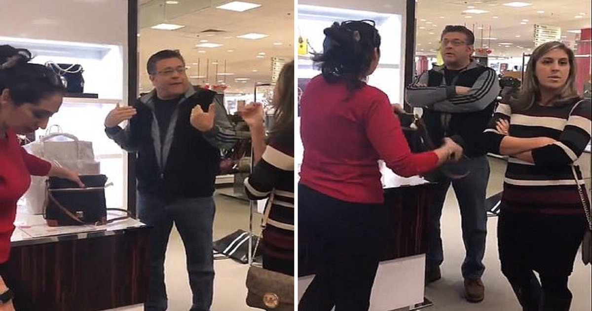 "r3.jpg?resize=1200,630 - Shopper Goes On Racist Rant Against Arabic Macy's Employee Then Calls Those Who Help Her ""A Bunch Of Democrats"""