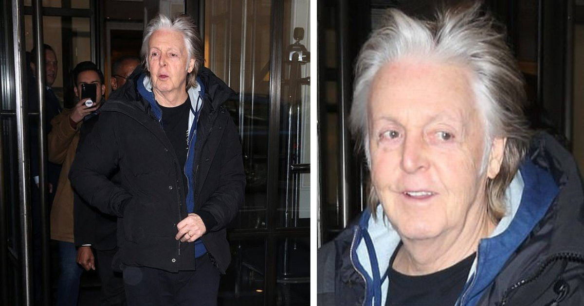 s3 18.png?resize=1200,630 - Sir Paul McCartney Spotted In New York City Flaunting His New Silver Locks As He Casually Leaves Hotel