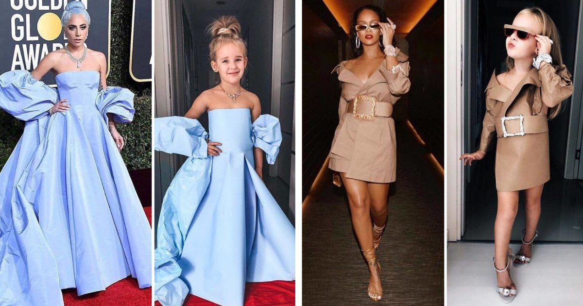 s4 6.png?resize=1200,630 - Mom And Daughter Recreated Red-Carpet Looks Within Small Budget And Totally Nailed It
